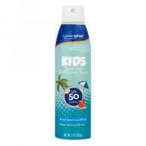 Careone Children's Continuous Spray Spf 50 Sunscreen