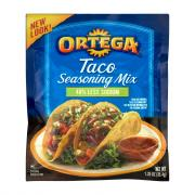 Ortega Reduced Sodium Taco Seasoning Mix