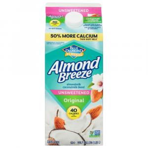 Blue Diamond Almond Breeze Unsweetened Almond/coconut Blend