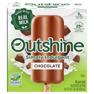 Outshine Chocolate Dairy Bars