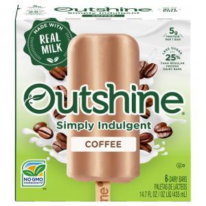Outshine Coffee Dairy Bars