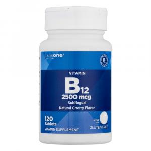 CareOne Vitamin B12 2500 MCG Natural Cherry Flavor