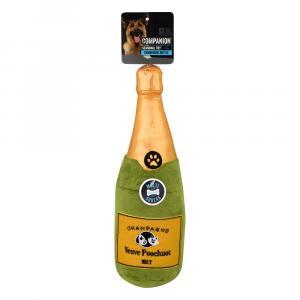 Companion Champagne Bottle Dog Toy
