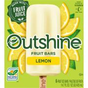 Nestle Outshine Lemon Fruit Bars