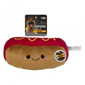 Companion Hot Dog Dog Toy