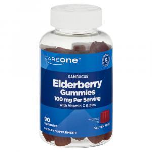 CareOne Elderberry Gummies 100mg