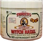 Thayer Witch Hazel Pads