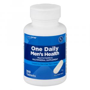 CareOne One Daily Men's Health Multivitamin Tablets