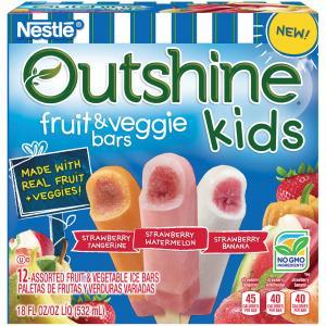 Nestle Outshine Fruit Bars Lime Tangerine Lemon