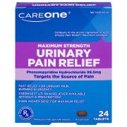 CareOne Maxium Strength Urinary Pain Relief Tablets