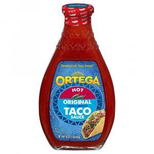 Ortega Hot Original Thick & Smooth Taco Sauce