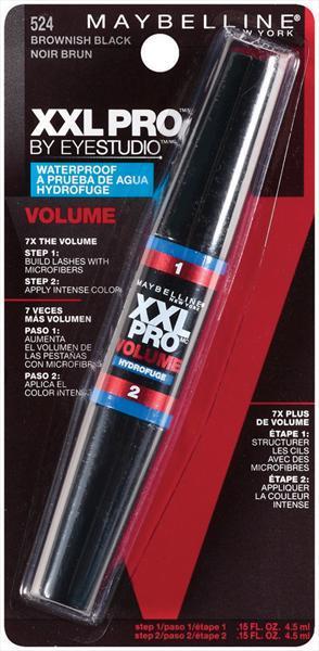Maybelline XXL Pro Volume WP Mascara - Brownish Black