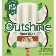 Nestle Outshine Coconut Fruit Bars