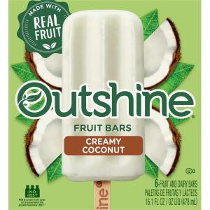 Nestle Outshine Coconut Fruit Bars