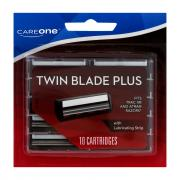 CareOne Twin Blade Plus Refill Cartridges