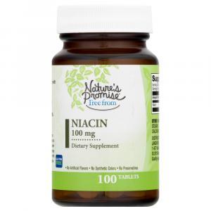 Nature's Promise Niacin 100Mg