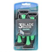 CareOne Men's Disposable 3-Blade Razor