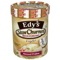 Edy's Light Almond Praline Ice Cream