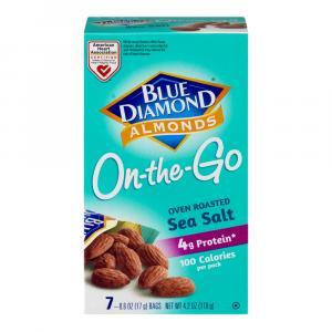 Blue Diamond Oven Roasted Almonds 100 Calorie Packs