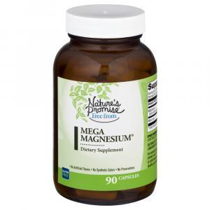 Nature's Promise Mega Magnesnesium Dietary Supplement