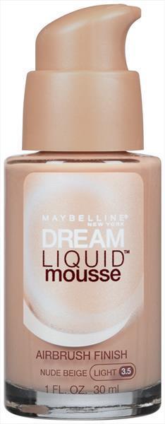 Maybelline Foundation Dream Liquid Mousse Nude Beige