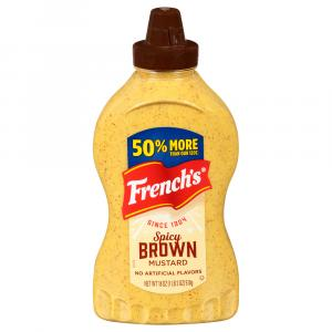 French's Spicy Brown Mustard Squeeze
