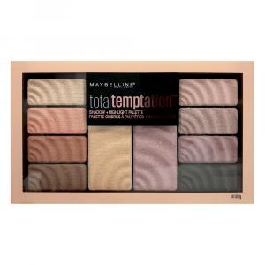 Maybelline Total Temptation Eye Shadow & Highlight Palette