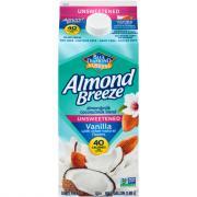 Blue Diamond Almond Breeze Unsweetened Vanilla/Coconut Blend