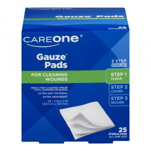 "CareOne Sterile Pads 2"" x 2"" 12-Ply"