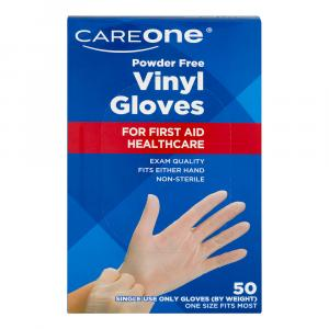 CareOne Vinyl Gloves