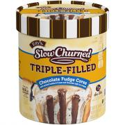 Edy's Slow Churned Chocolate Fudge Cores Cookies & Cream
