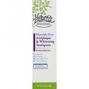 Nature's Promise Antiplaque & Whitening Toothpaste