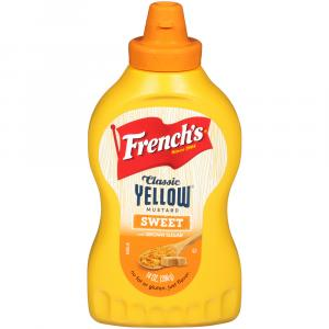 French's Sweet Yellow Mustard With Brown Sugar