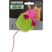 Companion Catnip Filled Shaggy Mouse Cat Toy