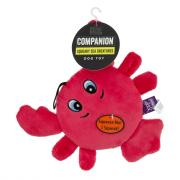 Companion Squeaky Sea Creatures Dog Toy