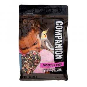 Companion Cockatiel Food Digestive Health