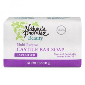 Nature's Promise Multi-Purpose Castile Lavender Bar Soap