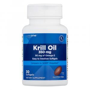 CareOne Krill Oil 350 mg Softgels