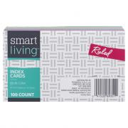 Smart Living Index Cards 3 X 5 Ruled