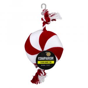 Companion Peppermint Candy Dog Toy Rope