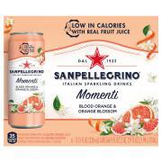 Sanpellegrino Momenti Blood Orange and Orange Blossom