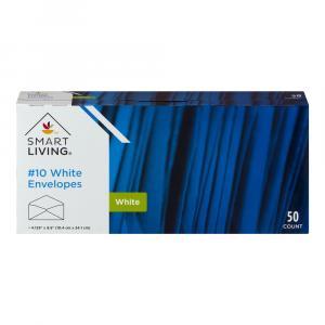 """Smart Living 10"""" Envelopes White"""