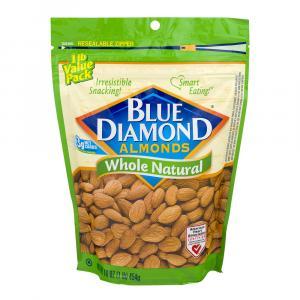 Blue Diamond Growers Whole Natural Almonds