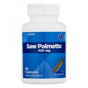 CareOne Saw Palmetto 450mg Herbal Supplement Capsules