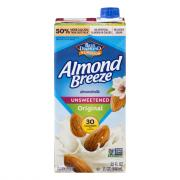Blue Diamond Almond Breeze Original Unsweetened Beverage
