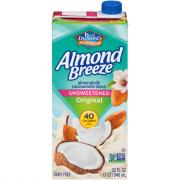 Blue Diamond Almond Breeze Unsweetened Almond Coconut