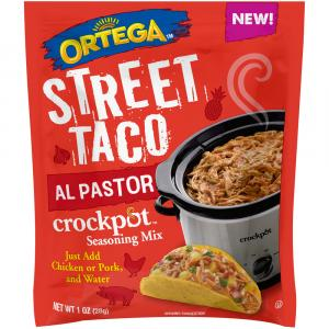 Ortega Street Tacos Al Pastor Crockpot Seasoning Mix