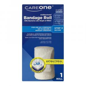CareOne Antibacterial Bandage Roll