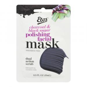 Etos Charcoal & Black Sugar Polishing Facial Mask