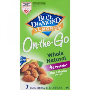 Blue Diamond On The Go Whole Almonds